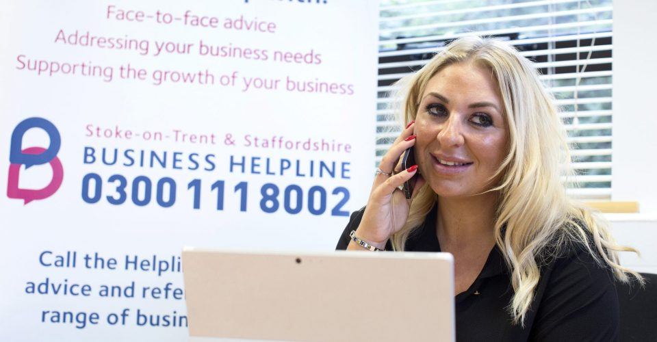 Growth Hub helpline is first call for Staffordshire businesses