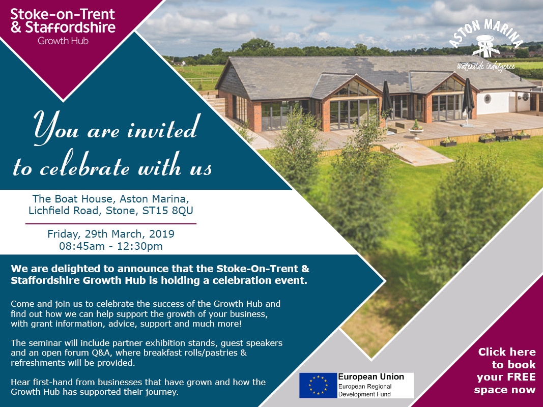 Stoke-On-Trent & Staffordshire Growth Hub Celebration Event