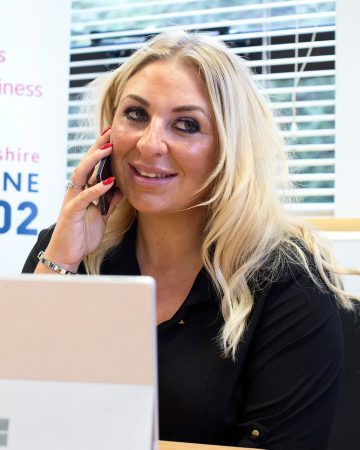 Rebecca Parker - Business Advisor and Growth Hub Business Helpline Manager