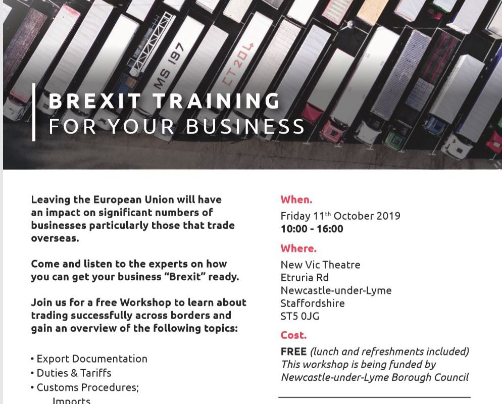 Brexit Training for your Business