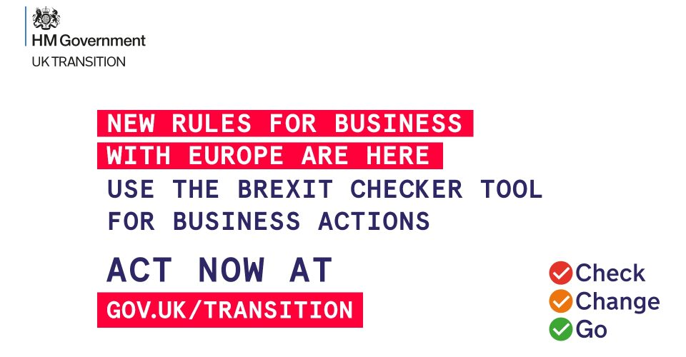 NEW support for businesses that trade with the EU