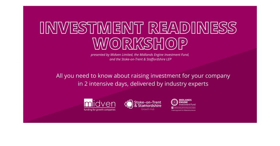 Investment Readiness Workshop: Day 2